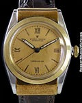 ROLEX 3065 BUBBLEBACK OYSTER PERPETUAL HOODED LUGS 18k & SS AUTOMATIC