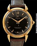 "ROLEX 4514 ""GRASSHOPPER"" 18K ROSE GOLD BLACK DIAL"