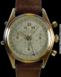 ROLEX DATO COMPAX 4767 JEAN-CLAUDE KILLY 18K HEAVY CASE PATINA