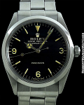 ROLEX EXPLORER 5500 GILT DIAL STEEL