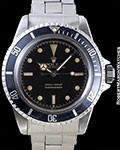 ROLEX 5512 SUBMARINER GILT GLOSS CHAPTER DIAL STEEL POINTED CROWN GUARDS