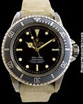 ROLEX 5512 SUBMARINER GILT/SILVER 4 LINE UNDERLINE DIAL POINTED CROWN GUARDS