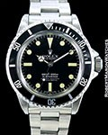 ROLEX 5512 SUBMARINER STEEL 1967