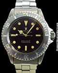 ROLEX 5513 SUBMARINER GILT GLOSS METERS FIRST DIAL POINTED CROWN GUARDS