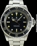 ROLEX REF 5513 SUBMARINER STEEL CIRCA 1974