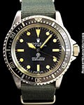 ROLEX 5513 SUBMARINER MILITARY STEEL AUTOMATIC