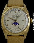 ROLEX 6062J 18K MOONPHASE