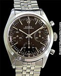 ROLEX 6238 PRE-DAYTONA STEEL CHRONOGRAPH BLACK TROPICAL CHOCOLATE BROWN DIAL