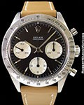 ROLEX 6239 DAYTONA TROPICAL UNDERLINE DOUBLE SWISS DIAL STEEL