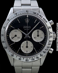 ROLEX 6239 DAYTONA BLACK DIAL SMALL LOGO 1965