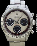 ROLEX PAUL NEWMAN DAYTONA 6239 CHRONOGRAPH STEEL