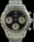 ROLEX 6239 DAYTONA PAUL NEWMAN STRAIGHT SWISS BLACK DIAL