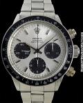 ROLEX 6240 DAYTONA SILVER LARGE LOGO 1966