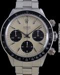 ROLEX REF 6240 DAYTONA 1.2M PROTOTYPE GRENE DIAL DOUBLE SWISS CIRCA 1965