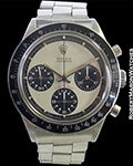 ROLEX 6241 PAUL NEWMAN DAYTONA STEEL BOX & PAPERS
