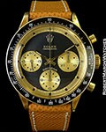 "ROLEX 6241 PAUL NEWMAN DAYTONA 14K 1969 ""JOHN PLAYER SPECIAL"""