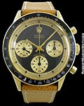 ROLEX 6241 JOHN PLAYER SPECIAL PAUL NEWMAN 14K DAYTONA