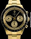 ROLEX 6241 PAUL NEWMAN JOHN PLAYER SPECIAL 18K