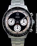 ROLEX PAUL NEWMAN DAYTONA 6241 STEEL CHRONOGRAPH 1967