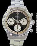 ROLEX 6262 PAUL NEWMAN DAYTONA BLACK 3 COLOR DIAL STEEL