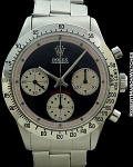 ROLEX 6262 PROTOTYPE PAUL NEWMAN DIAL SILVER SUB DIALS SENZA-LUME