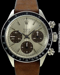 ROLEX 6263 DAYTONA TROPICAL SUBDIALS MADE FOR PARUVIAN AIR FORCE (FAP) CIRCA 1974