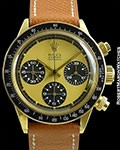 ROLEX 6263 PAUL NEWMAN LEMON DIAL 18K DAYTONA