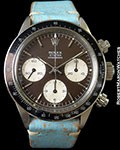ROLEX TROPICAL 6263 DAYTONA STEEL P301 PUSHERS