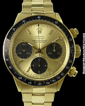 ROLEX VINTAGE DAYTONA 6263 18K FLOATING TROPICAL DIAL 1972