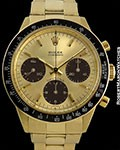 ROLEX 6264 DAYTONA 18K TROPICAL SUBDIALS