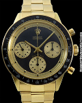 ROLEX 6264 18K JOHN PLAYER SPECIAL JPS PAUL NEWMAN