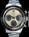 ROLEX 6264 INCREDIBLE CONDITION!!  PAUL NEWMAN 3-COLOR CREME DIAL - RARE!!  MINT++