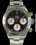 ROLEX ASTRUA 6265 BIG RED DAYTONA UNPOLISHED STEEL BOX & PAPERS