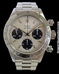 ROLEX 6265 BIG RED DAYTONA UNPOLISHED STEEL BOX & PAPERS