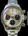 ROLEX 6265 DAYTONA SIGMA DIAL STEEL BOX & PAPERS