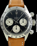 ROLEX REF 6265 DAYTONA STEEL UNPOLISHED