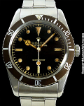ROLEX SUBMARINER 6536 1 TROPICAL CHOCOLATE BEZEL & DIAL STEEL