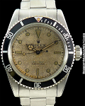 ROLEX GREAT WHITE 6538 SUBMARINER WHITE DIAL STEEL