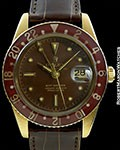 ROLEX 6542 18K GMT MASTER INCREDIBLY EXTENSIVE PAPERS & ORIGINAL BOX
