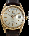 ROLEX 6611 B DAY DATE PRESIDENT 18K ROSE GOLD AUTOMATIC