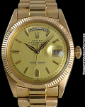 ROLEX 6611 DAY DATE ROSE GOLD WITH 18K DIAL ARAB DATES