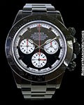 "ROLEX BLACK OUT DAYTONA 116520 ""PAUL NEWMAN"" DIAL"