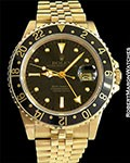 ROLEX 16758 GMT MASTER 18K BOX & PAPERS MINT+