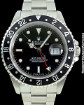 ROLEX GMT MASTER TRANSITIONAL