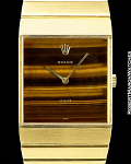 ROLEX KING MIDAS TIGER EYE DIAL 18K