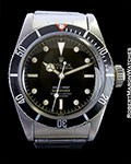 ROLEX SUBMARINER 6538 TROPICAL GILT GLOSS CHAPTER DIAL 1958