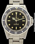 ROLEX REF 5512 SUBMARINER METER FIRST GILT DIAL CIRCA 1965
