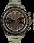 TUDOR 7031 MONTE CARLO HOME PLATE CHRONOGRAPH STEEL