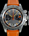 TUDOR MONTE CARLO HOMEPLATE STAINLESS STEEL