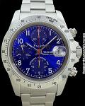 TUDOR 79280 BLUE DIAL CHRONO STAINLESS STEEL